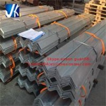 equal angle unequal angle hot dipped galvanized steel angle bar