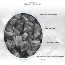 Hot sale low ash foundry coke to India